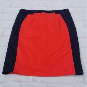 🤩 Worthington Skirt Color Block Pencil Skirt